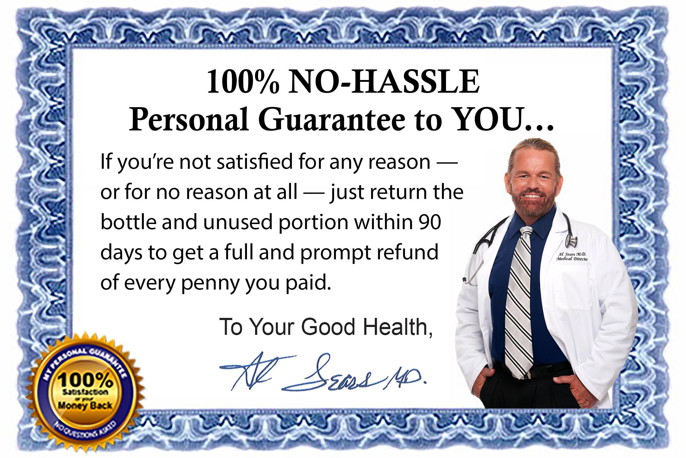 Primal Force Health Product Guarantee
