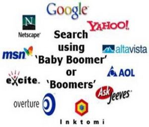 Use 'Baby Boomers' in Online Search