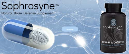Sophrosyne Brain Health Dietary Suppliment