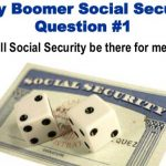 5 Reasons Why Social Security Might Not be in Baby Boomers Retirement [VIDEO]